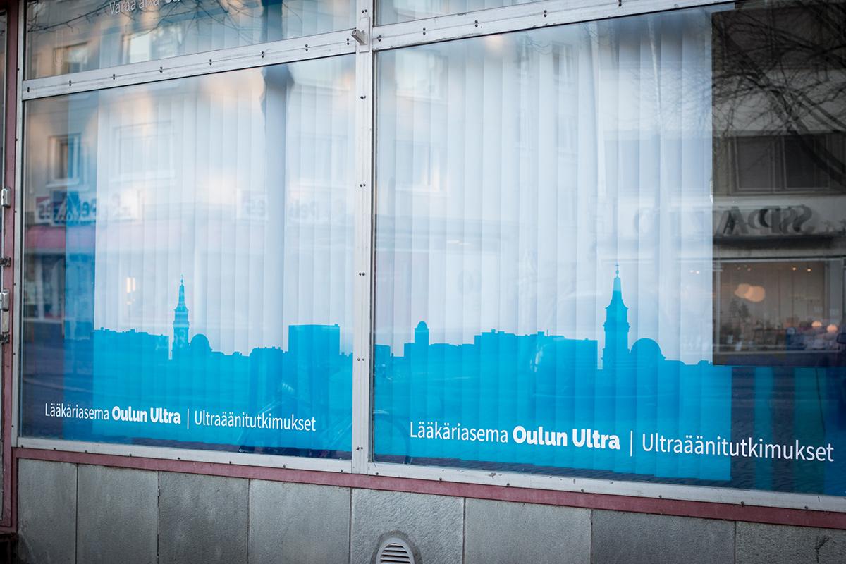 Oulun Ultran sijainti